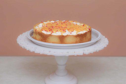 Torta de cupuaçu com queijo cuia