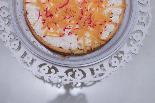 Torta Casquinha de cupuaçu com queijo cuia